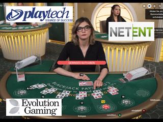 Live-Blackjack-Softwarehersteller